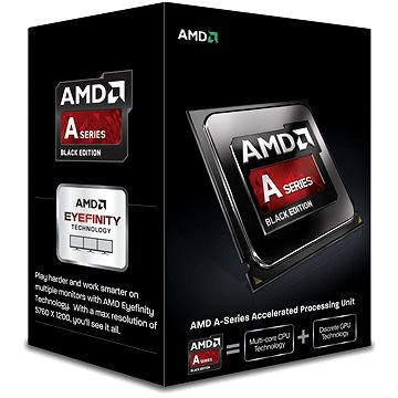 AMD A8-7650K Black Edition Low Noise Cooler (AD765KXBJASBX)