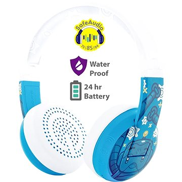 BuddyPhones Wave - Robot, modrá (BT-BP-WV-ROBOT)