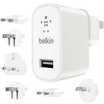 Belkin USB 230V MIXIT Metallic Travel kit bílá (F8M967btWHT)