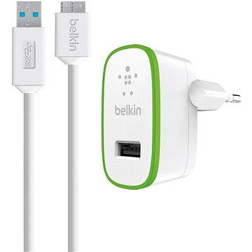 Belkin USB 230V F8M865vf03 bílá (F8M865vf03-WHT)