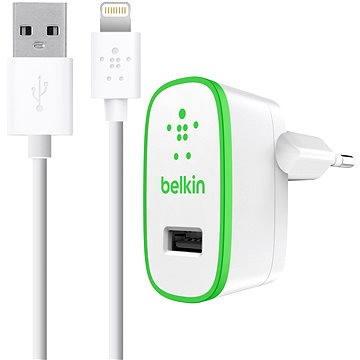 Belkin USB micro nabíječka 230V/5V, 2.4A + Lightining kabel, bílá - F8J125vf04-WHT