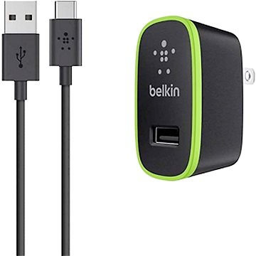 Belkin F7U001vf06 + USB-C kabel (F7U001vf06-BLK)