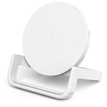 Belkin Boost Up Bold Qi Wireless Charging Stand White (F7U052vfWHT)