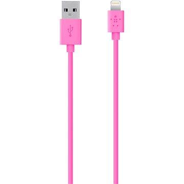 Belkin MIXIT Lightning 1.2m růžový (F8J023bt04-PNK)