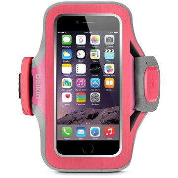 Belkin Slim-Fit Plus Armband pro iPhone 6 a 6S růžové (F8W499btC01)