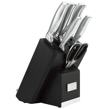 BerlingerHaus Sada nožů ve stojanu s držákem na tablet a brouskem 7ks BH-2338 (BH-2338)