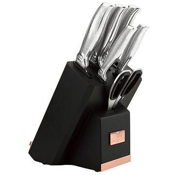 BerlingerHaus Sada nožů ve stojanu s držákem na tablet a brouskem 7ks BH-2339 (BH-2339)