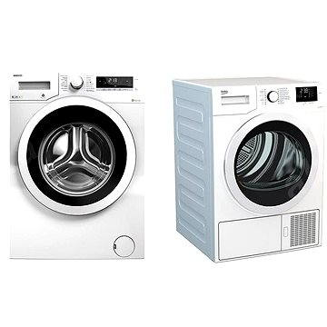 BEKO DS 7433 CSRX+WMY 81283 LMB2 (Set)