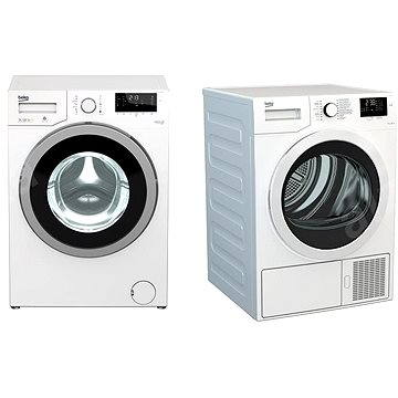 BEKO DS 7433 CSRX + WMY 71483 LMB2 (set)
