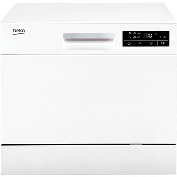 BEKO DTC 36610 W (8884353200) + ZDARMA Tablety do myčky FINISH All in 1 100 ks