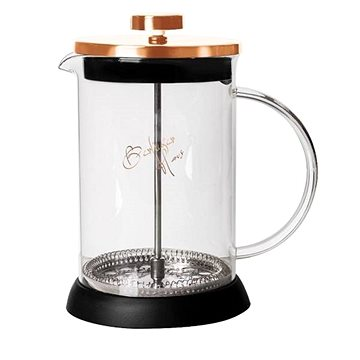 BerlingerHaus Konvička na čaj a kávu French Press 800 ml Rosegold Metallic Line (BH-1495)