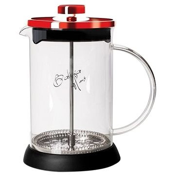 BerlingerHaus Konvička na čaj a kávu French Press 350 ml Burgundy Metallic Line BH-1496 (BH-1496)