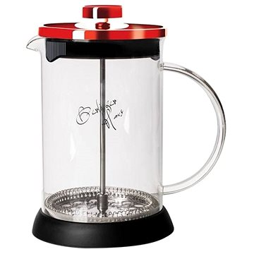 BerlingerHaus Konvička na čaj a kávu French Press 600 ml Burgundy Metallic Line (BH-1497)