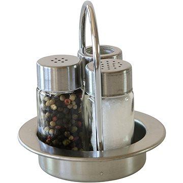 Berndorf Sandrik Menážka 3-dílná sůl, pepř a párátka (5500903810)