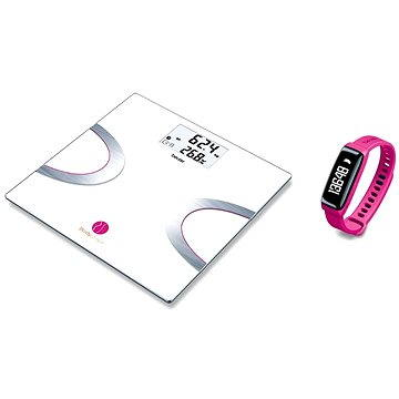 Beurer BF 710BT + AS 81 pink (BF 710 BT + AS 81 pink)