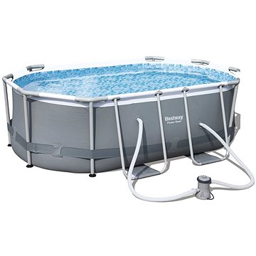 BESTWAY Oval Pool Set 3.00m x 2.00m x 84cm (56617)