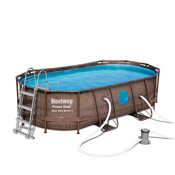 BESTWAY Oval Pool Set 4.27m x 2.50m x 1.00m (56714)