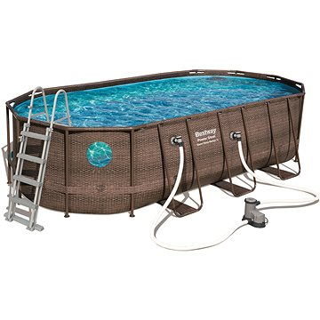 BESTWAY Oval Pool Set 5.49m x 2.74m x 1.22m (56716)