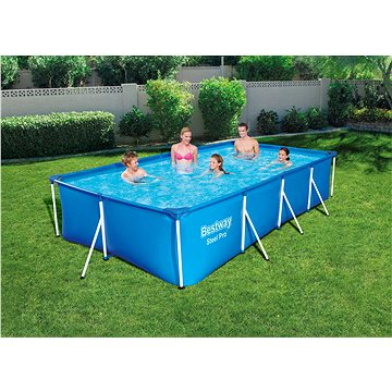 BESTWAY Steel Pro Pool Set 4.00m x 2.11m x 81cm (56424)