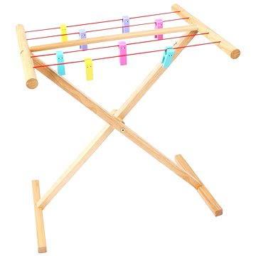 Dřevěný sušák na prádlo (691621023778)