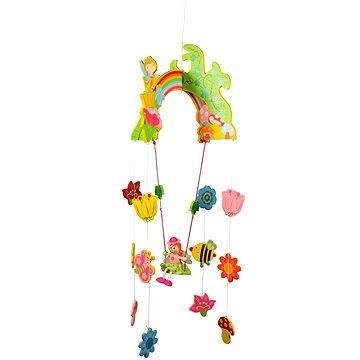 Závěsný kolotoč - Víla s květy - 691621008676