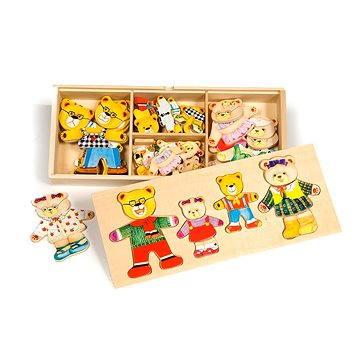 Dřevěné figurky - Medvědí rodinka (691621087664)