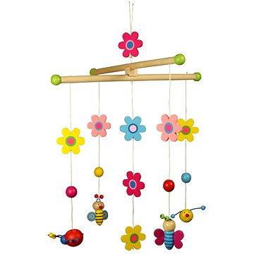 Závěsný kolotoč - Květinky a motýlci - 691621008720