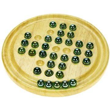 Dřevěná dětská hra - Solitér (691621021521)