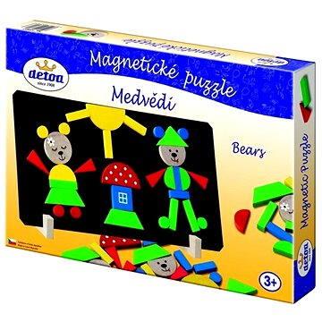 Detoa Magnetické puzzle Medvědi (8593547030163)