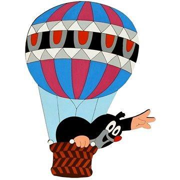 Dřevěná dekorace - Krteček v balónu (8594155462971)