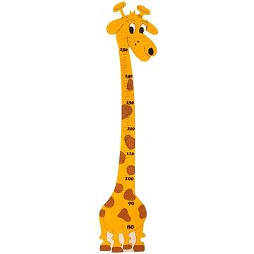 Dřevěná dekorace - Dětský metr Žirafa Amina (8594155461677)