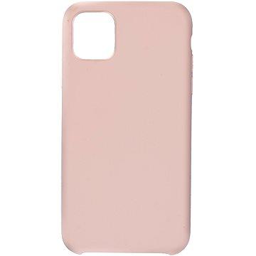 C00Lcase iPhone 11 Liquid Silicon Case Sand Pink
