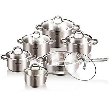 Blaumann Sada nádobí nerez 12ks Gourmet Line Satin (BL-3152)