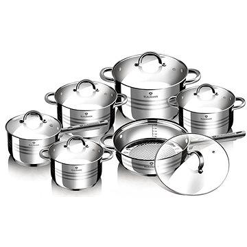 Blaumann Sada nádobí nerez 12ks Gourmet Line BL-1410 (BL-1410)