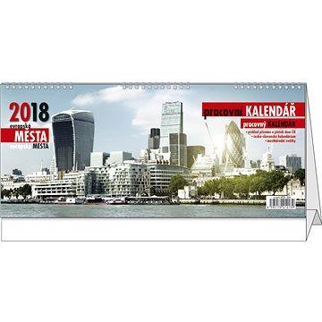 BALOUŠEK pracovní kalendář 2018 - evropská města (BSN4)