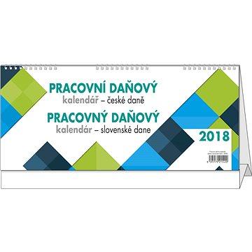 BALOUŠEK pracovní kalendář 2018 - daně CZ/SK (BSN8)