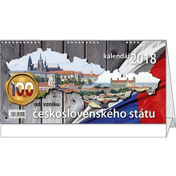 BALOUŠEK pracovní kalendář 2018 - 100 let od vzniku ČSR (BSC9)