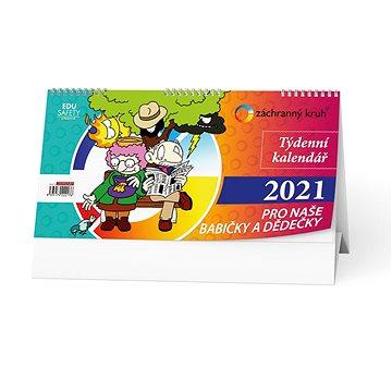 BALOUŠEK - Kalendář pro naše babičky a dědečky (BSE12)