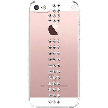 Bling My Thing Stripe Crystal pro Apple iPhone SE/5/5S (SE-ST-CL-CRY)