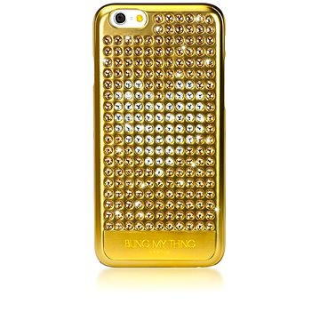 Bling My Thing Extravaganza Gold Heart pro Apple iPhone 6/6S (IP6-EV-GLH-LCC)