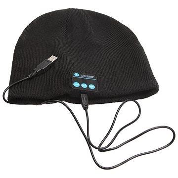 Beanie Bluetooth zimní čepice black