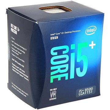 Intel Core i5+-8500 (BO80684i58500)