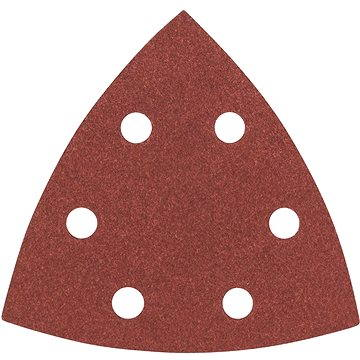 BOSCH Sada brusných papírů C430 pro delta bruska, 93mm, G80, 5ks (2.608.605.601)
