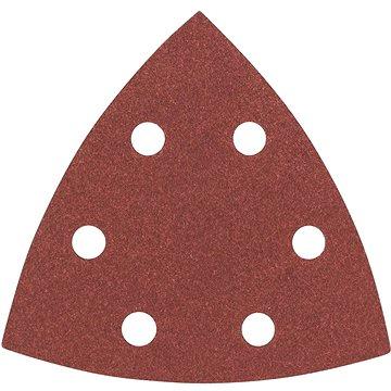 BOSCH Sada brusných papírů C470 pro delta bruska, 93mm, G180, 5ks (2.608.605.153)
