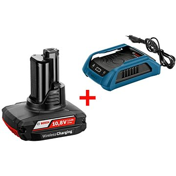 Bosch Wireless charging GBA 12V W + GAL 1830 W Professional (1.600.A00.J0F)