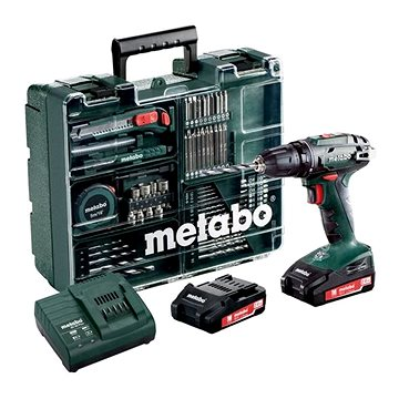 Metabo BS 18Li mobilní dílna, 2x2Ah (602207880)