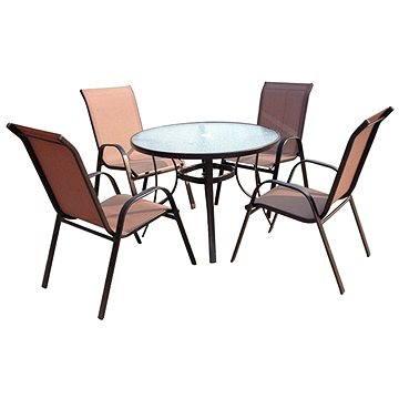 SET zahradního nábytku Jasin - Bronz Design (SA011)
