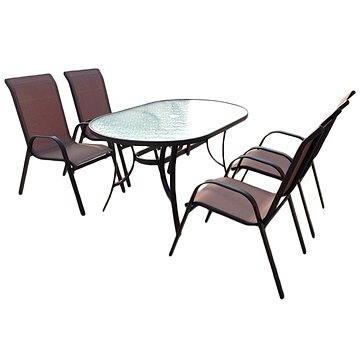 SET zahradního nábytku Nerang - Bronz Design (SA012)