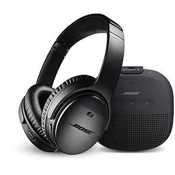 Bose QC 35 II Black a Bose SL Micro Black (QC 35 II Black a SL Micro Black)