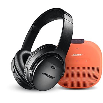 Bose QC 35 II Black a Bose SL Micro Orange (QC 35 II Black a SL Micro Orange)